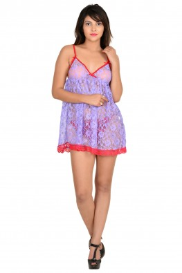9teenAGAIN Women's Nylon Babydoll