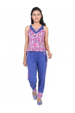 Joggers pant loungewear/ nightsuit set