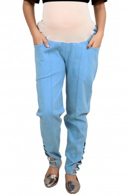 Solid Trouser With Exremely Soft Imported Elastic
