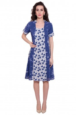 9teenagain lightweight rayon georgette dress