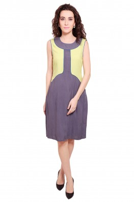 9teenagain crisp crepe dress
