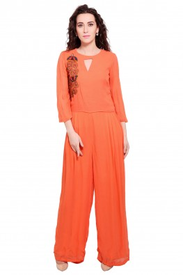 Retro Mania Maxi Length Jumpsuit